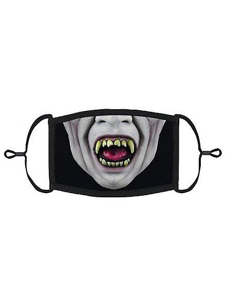 Freakshow Clown Mund-Nasen-Maske