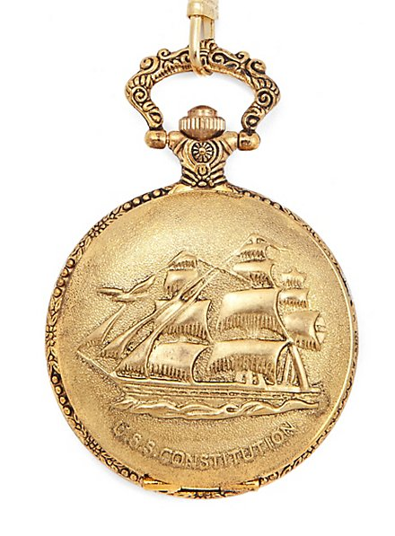 Frigate Pocket Watch gold