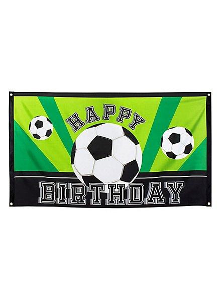 "Fußball Fahne ""Happy Birthday"""