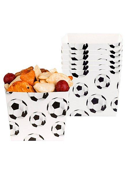 Fußball Snackbox 6 Stück