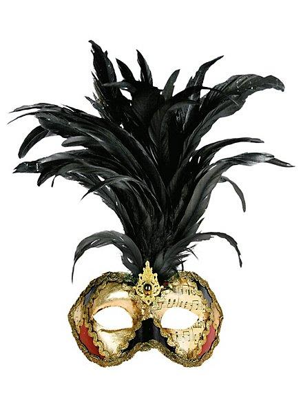Galetto Colombina scacchi colore musica  - Venetian Mask
