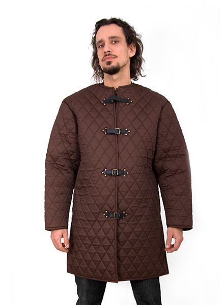 Gambeson with Buckles brown