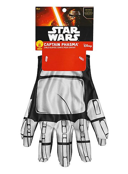 Gants de capitaine Phasma Star Wars 7 pour enfant