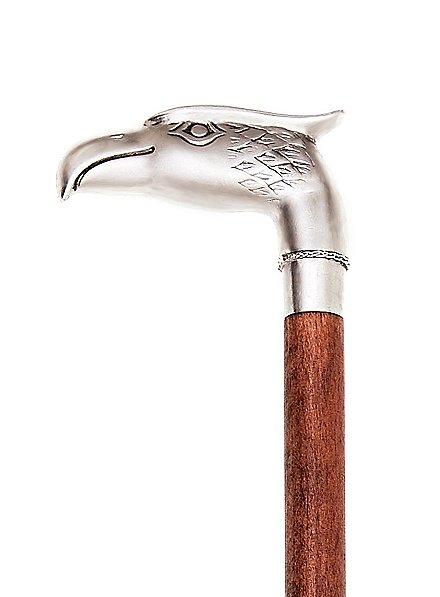 Gehstock Adler silbern