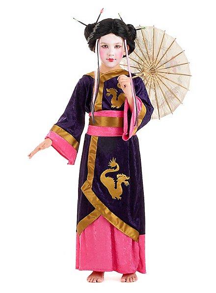 Geisha Kinderkostüm