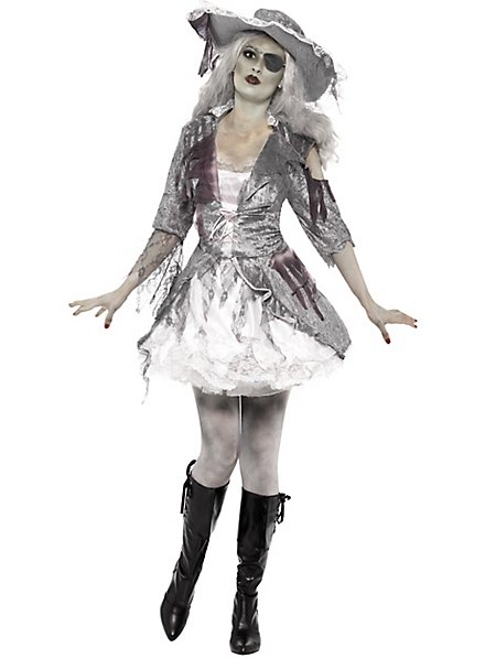 Geisterschiff Piratin Kostüm