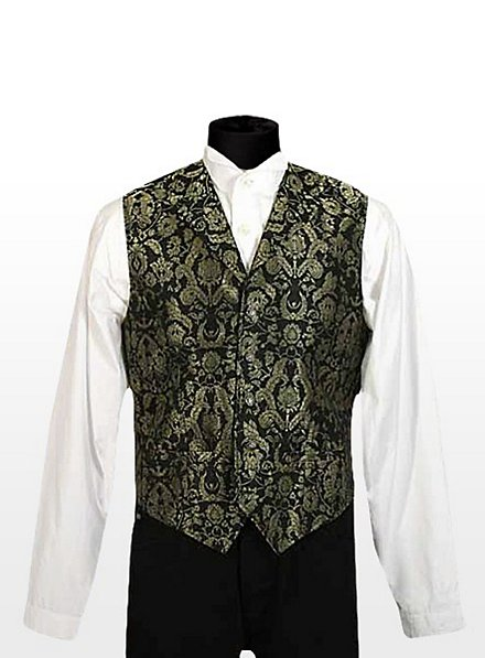 Gentleman Vest black-gold