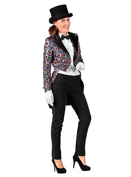 Glitter Ladies Tailcoat