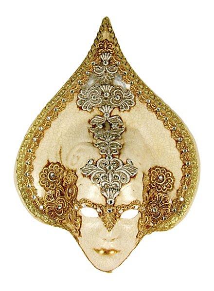 Goccia Macrame Craquele - Venezianische Maske
