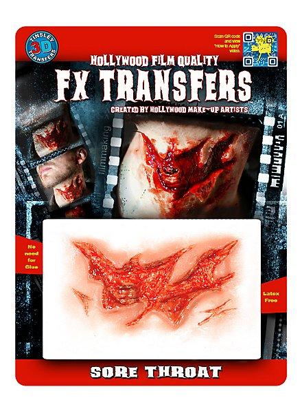 Gorge arrachée 3D FX Transfers