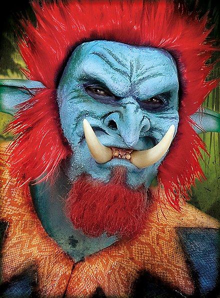 Grandes défenses de troll Dents
