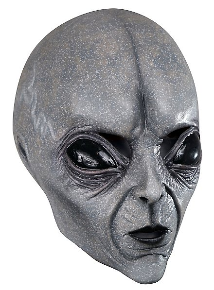 Grauer Alien Kindermaske