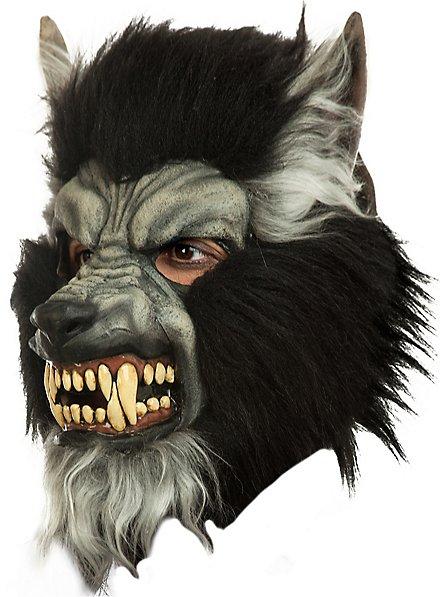 Graumähne Werwolfsmaske