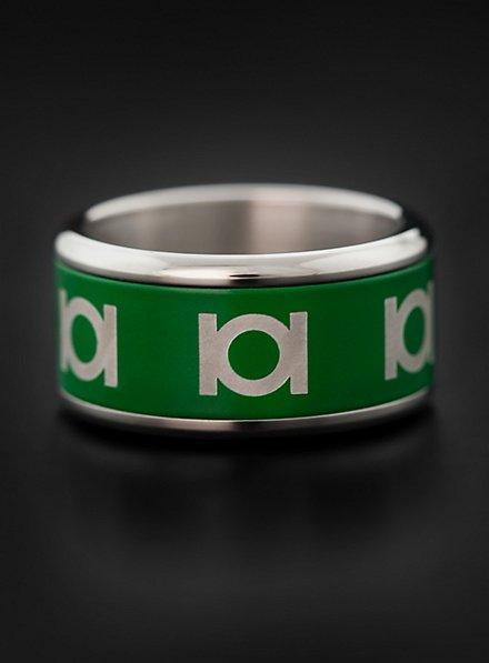 Green Lantern Spinning Ring green