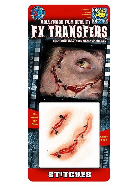 Grobe Naht 3D FX Transfers