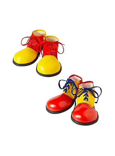 Große Clownsschuhe für Kinder