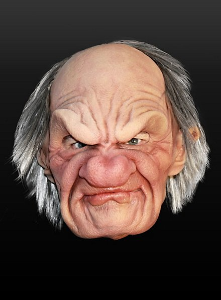 Grouchy Gramps Latex Full Mask