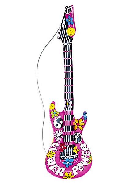 Guitare de hippie gonflable