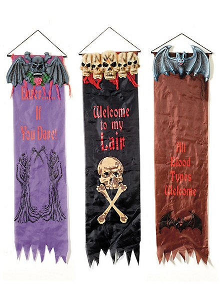 Halloween Party Banner Set
