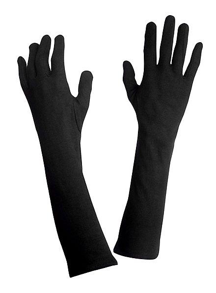 Handschuhe lang schwarz