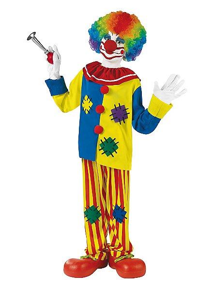 Happy Clown Kids Costume