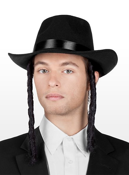 Hasid Hat with Side Curls