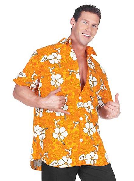 Hawaiihemd orange