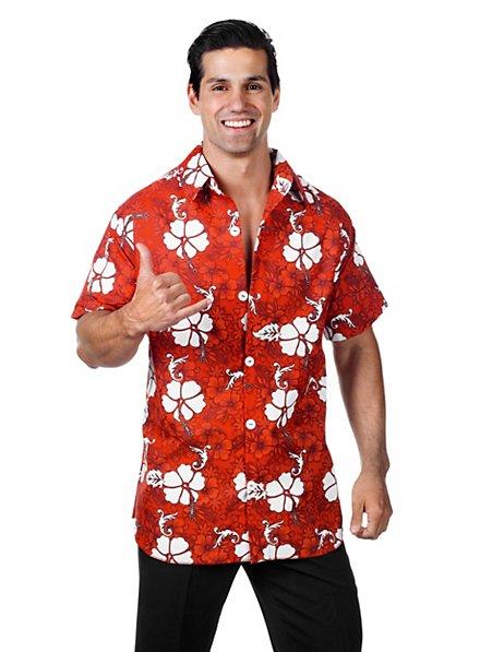 Hawaiihemd rot