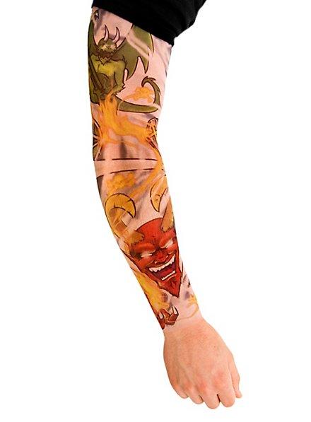 Heavy Metal Manches de peau tatouée