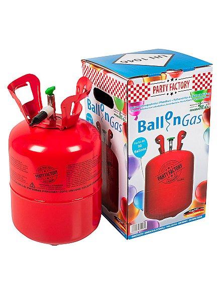 Helium Ballongas für ca. 30 Ballons