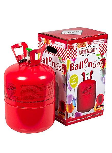 Helium Ballongas für ca. 50 Ballons