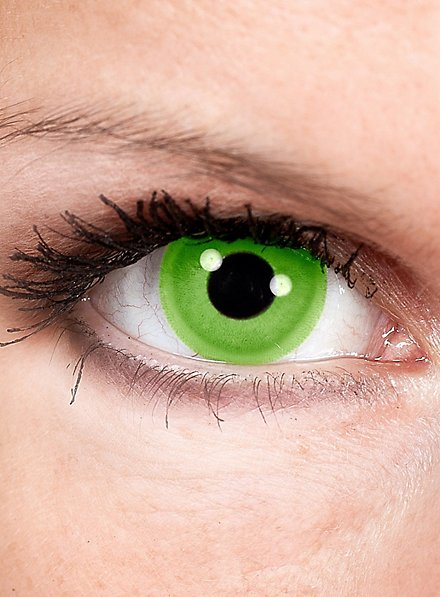 Hellgrüne Kontaktlinsen