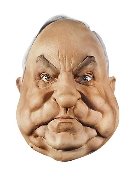 Helmut Kohl Maske aus Schaumlatex
