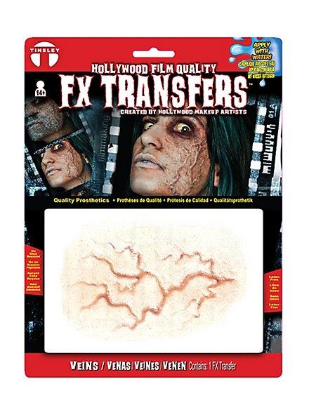 Hervortretende Adern 3D FX Transfers