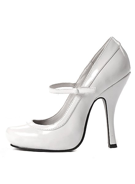 High Heels Platform Shoes white
