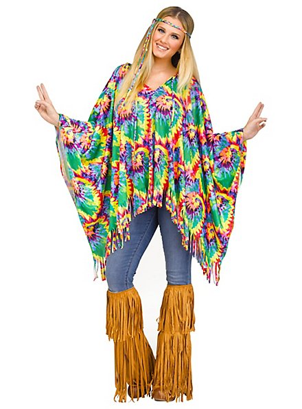 Hippie Batik Poncho