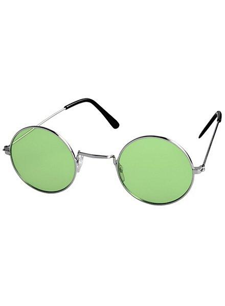 Hippie Brille grün