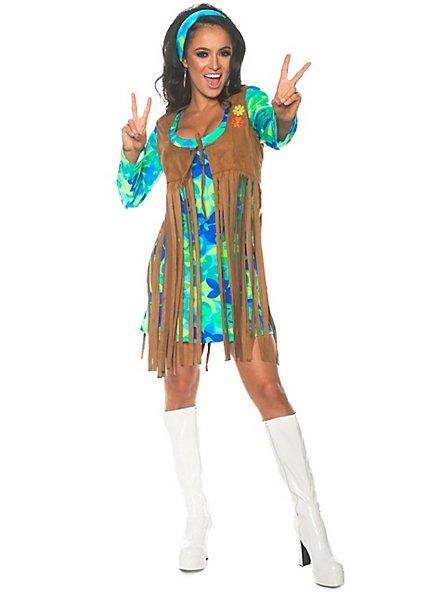 Hippie fringe dress