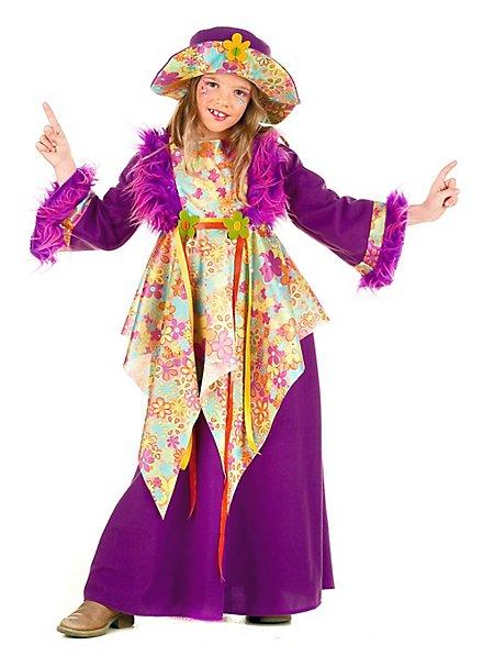 Hippie Girl Kinderkostüm