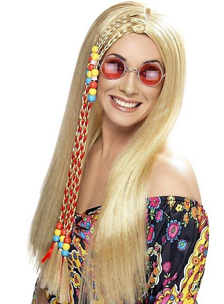Hippie Perücke mit Braids