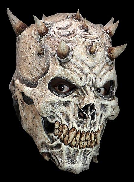 Hörnerschädel Maske