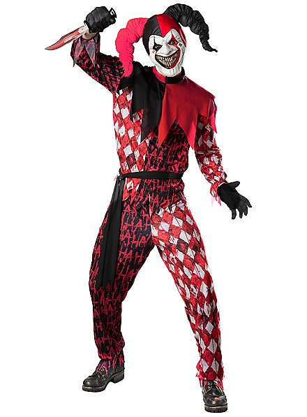 Horror Jester Costume