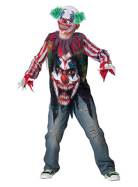 Horrorclown Kinderkostüm