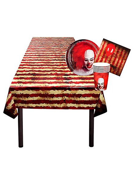 Horrorclown Party Tischdeko Set