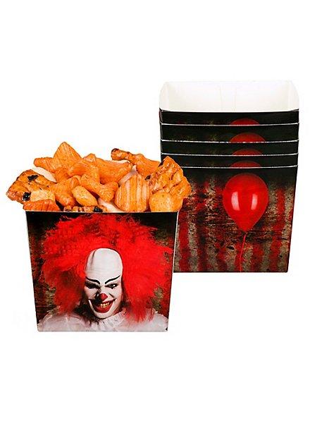 Horrorclown Snackbox 6 Stück