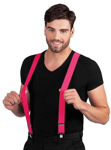 Hosenträger neon-pink