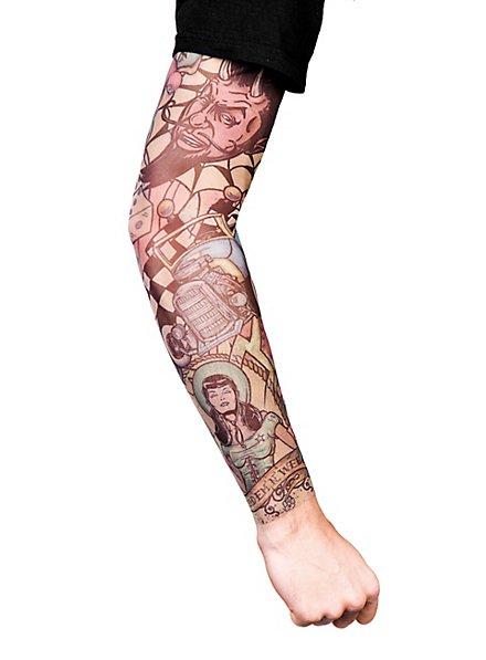 Hot Rod Tattoo Ärmel