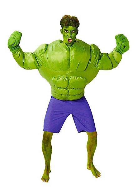 Hulk aufblasbares Kostüm