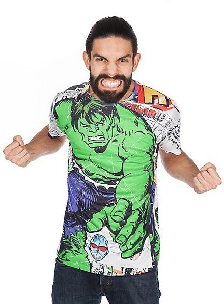 Hulk T-Shirt Comic Allover