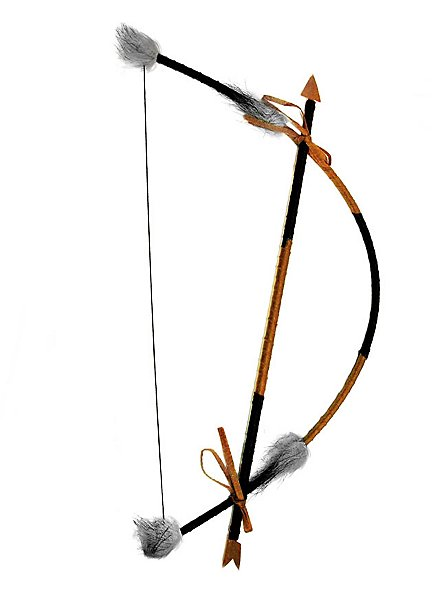 Indian bow with arrow